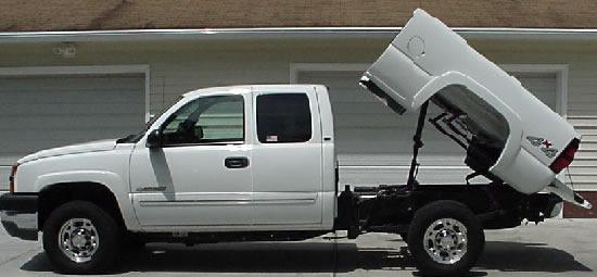 Pick Up Truck Dump Bed Rental